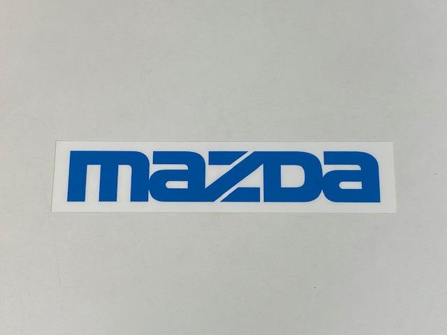 純正MAZDAステッカー(ブルー